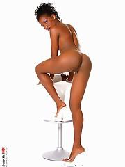 Coco beach cute teen striptease